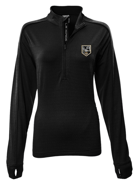 Los Angeles Kings 50th Anniversary Liquid Gel Pacer Quarter Zip
