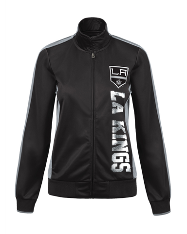 LA Kings Womens Dropback Track Jacket
