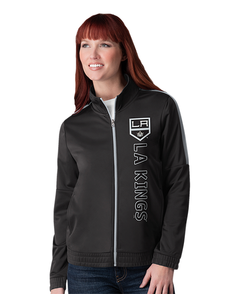 LA Kings Women's Double Silver Track Jacket