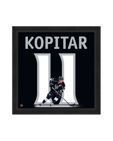 LA Kings Kopitar Number Frame