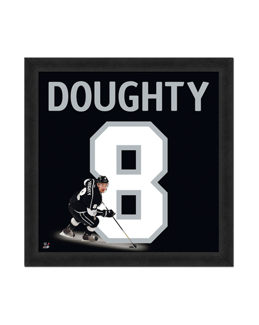 LA Kings Doughty Number Frame