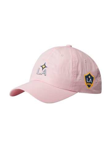 LA Galaxy Pink Washed Dad Hat