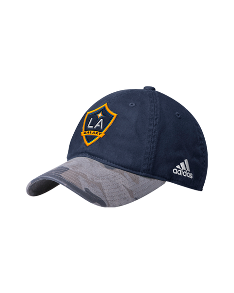 LA Galaxy Camo Brim Slouch Adjustable Cap
