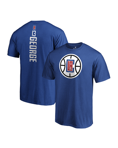 LA Clippers Paul George Vertical Name & Number T-Shirt