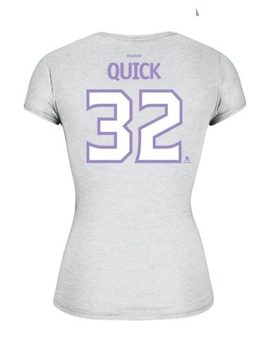 LA Kings Women's HFC Jonathan Quick Player T-Shirt
