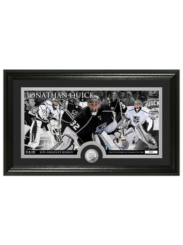 Los Angeles Kings Jonathan Quick Frame Photo & Coin