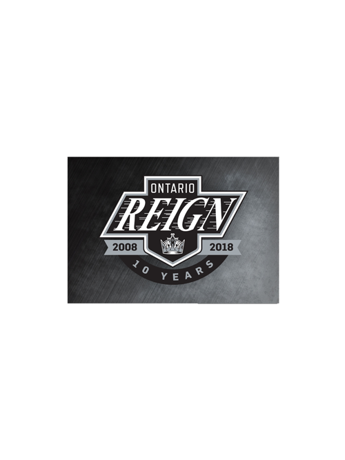Ontario Reign 10th Anniversary Magnet