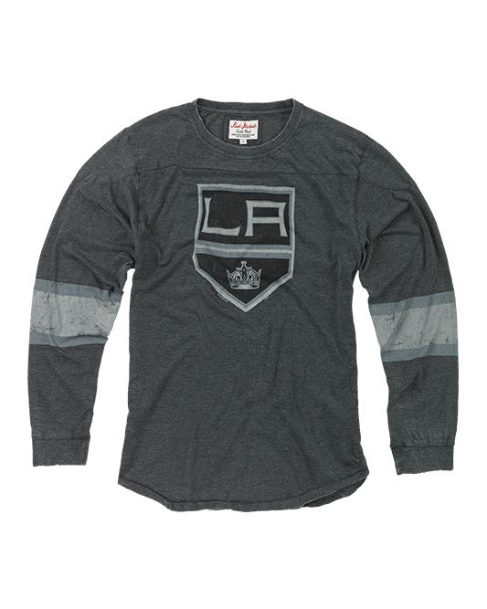 LA Kings Thompson Striped Long Sleeve T-Shirt