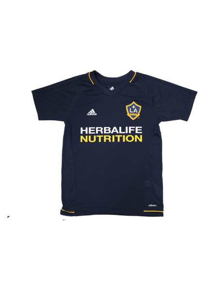 LA Galaxy Youth Training Jersey
