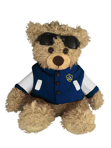 LA Galaxy Ray Plush with Varsity Jacket