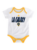 LA Galaxy Hat Trick 3-Pack Creeper Set