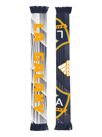 LA Galaxy Tracks Half Logo Sublimated Scarf