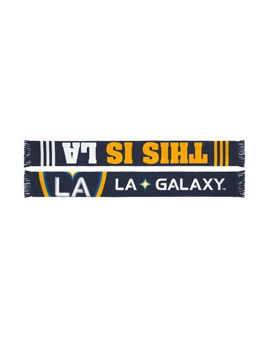 LA Galaxy Slogan Jacquered Scarf