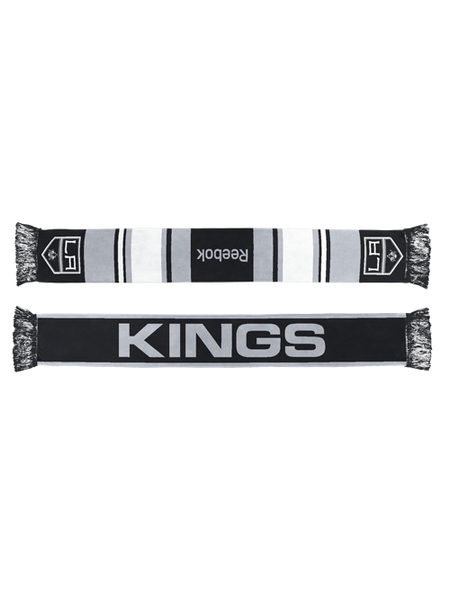 Los Angeles Kings Color Block Jacquard Scarf