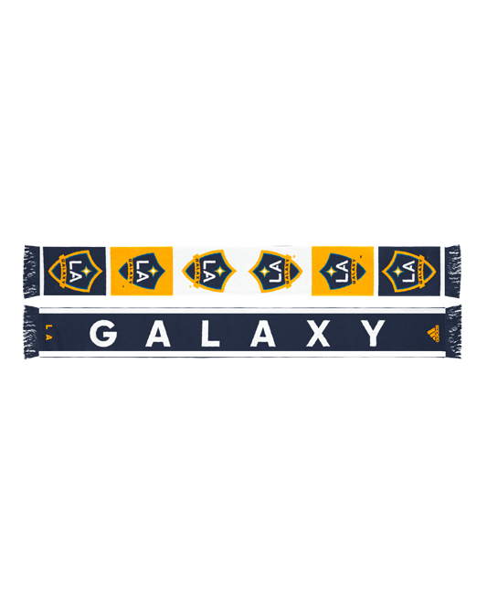 LA Galaxy Team Logo Jacquered Scarf