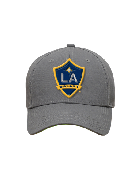 LA Galaxy Youth Grey Adjustable Cap