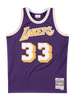 Los Angeles Lakers Kareem Abdul-Jabbar 83-84 Road Swingman Jersey