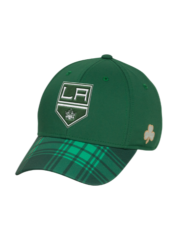 Los Angeles Kings St. Patrick's Structured Flex cap