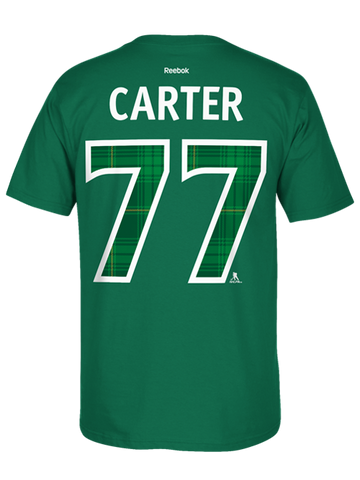 Los Angeles Kings St. Patrick's Jeff Carter Player T-Shirt