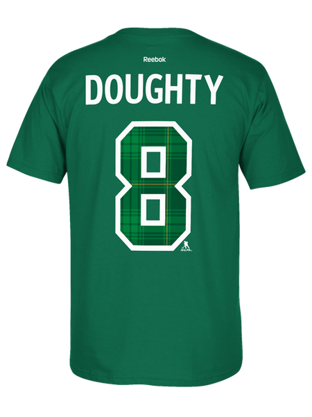 Los Angeles Kings St. Patrick's Drew Doughty Player T-Shirt