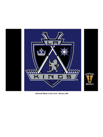 Los Angeles Kings 50th Anniversary Crest Logo Fridge Magnet