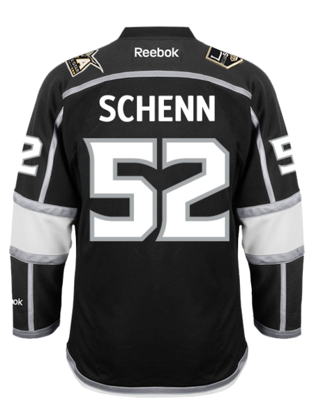 Los Angeles Kings Luke Schenn Premier Home Jersey