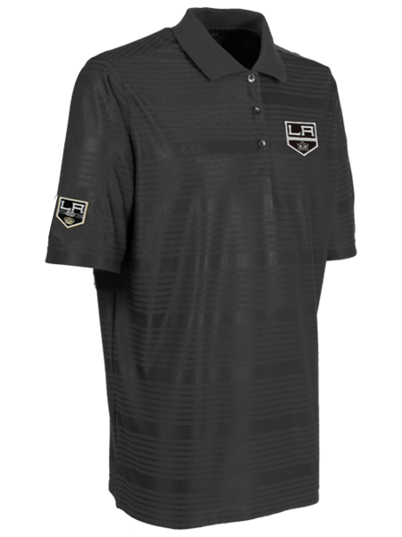 Los Angeles Kings 50th Anniversary Shield Illusion Polo
