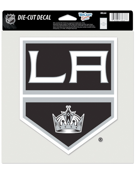 LA Kings 8x8 Diecut Shield Decal
