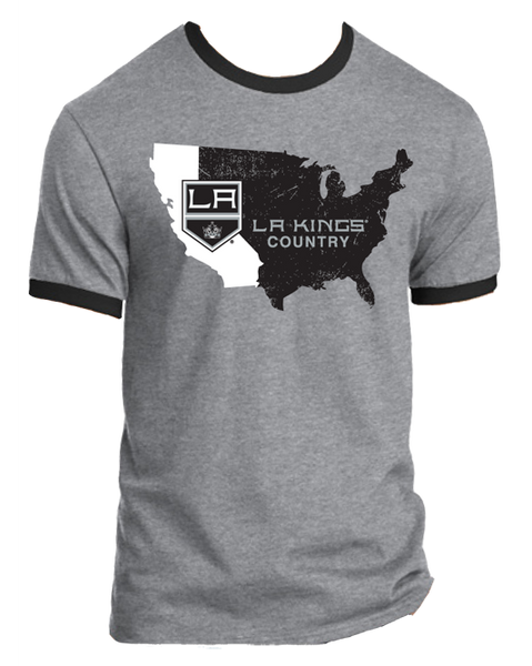LA Kings Nationwide 2.0 California Ringer T-Shirt