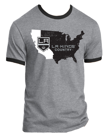 Los Angeles Kings Nationwide 2.0 California Ringer T-Shirt