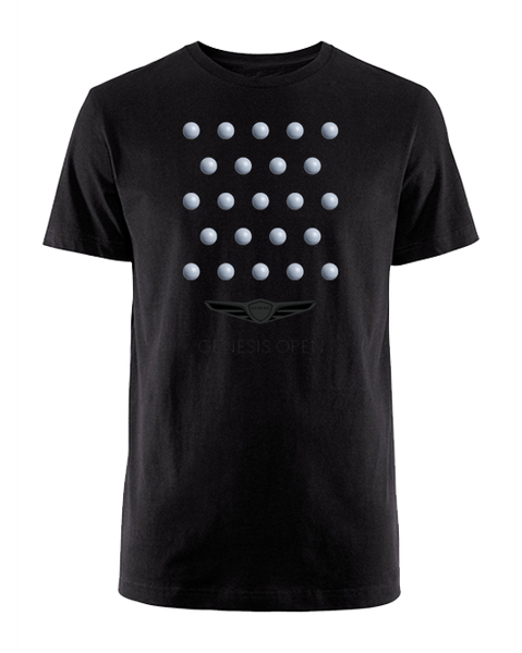 Genesis Open Golf Ball Thoughts T-Shirt