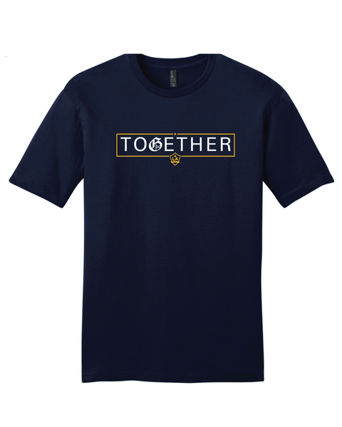 LA GALAXY TOGETHER NAVY T-SHIRT