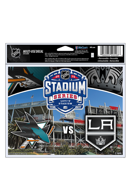 Los Angeles Kings 2015 Stadium Series Dueling Decal