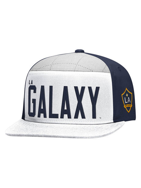 LA Galaxy Originals Five Panel Snapback Cap
