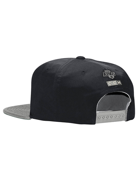 Los Angeles Kings CCM Two Tone Retro Snapback Cap