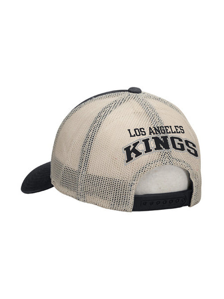 Los Angeles Kings CCM Distressed Logo Meshback Snapback Cap
