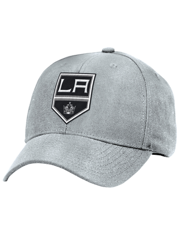 Los Angeles Kings Basic Shield Structured Adjustable Cap