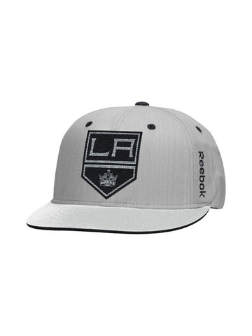 Los Angeles Kings Center Ice Travel N Training Flat Brim Snapback Cap