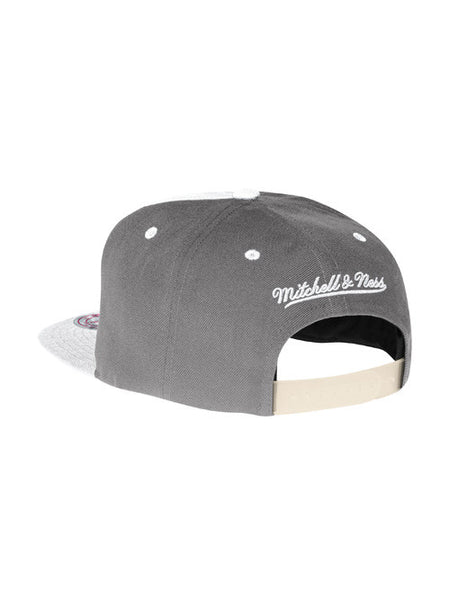 Los Angeles Kings Shield Logo White Wall Snapback Cap