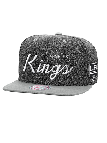 Los Angeles Kings Shield Logo Static Snapback Cap