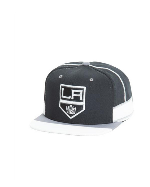 LA Kings Shield Logo Home Jersey Snapback Cap
