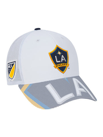 LA Galaxy Team Structured Trucker Adjustable Cap