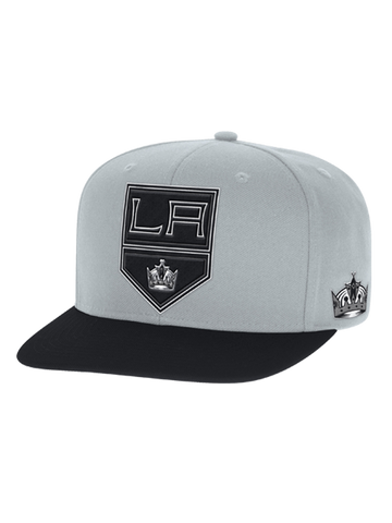 Los Angeles Kings Two Tone Flat Brim Snapback Cap