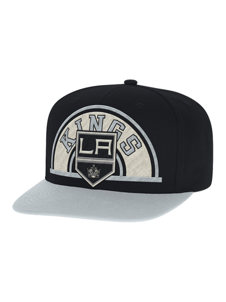 Los Angeles Kings Two Tone Text Arch Snapback Cap