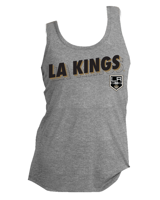 LA Kings Womens Pop Rock Racerback Tank