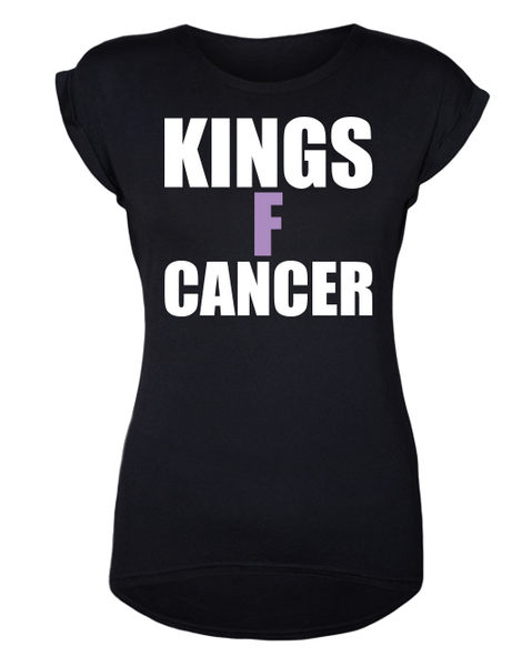 LA Kings Women's HFC KINGSFCANCER T-Shirt - Black