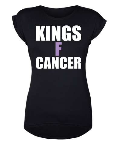 Los Angeles Kings Women's HFC KINGSFCANCER T-Shirt - Black