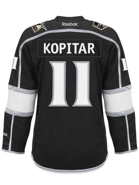 Los Angeles Kings Women's Anze Kopitar Premier Home Jersey