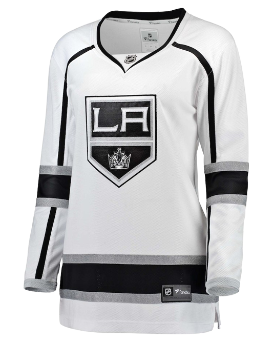 cheap for discount ee66e c7c9e LA Kings Women's Breakaway Replica Road Jersey