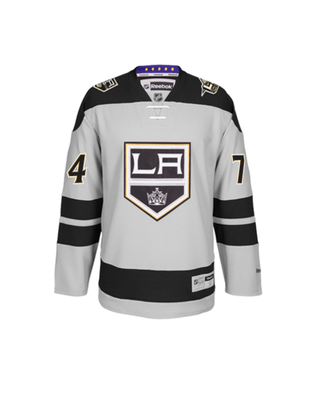 Los Angeles Kings 50th Anniversary Dwight King Premier Jersey